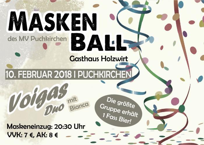 Maskenball MV-Puchkirchen 2018