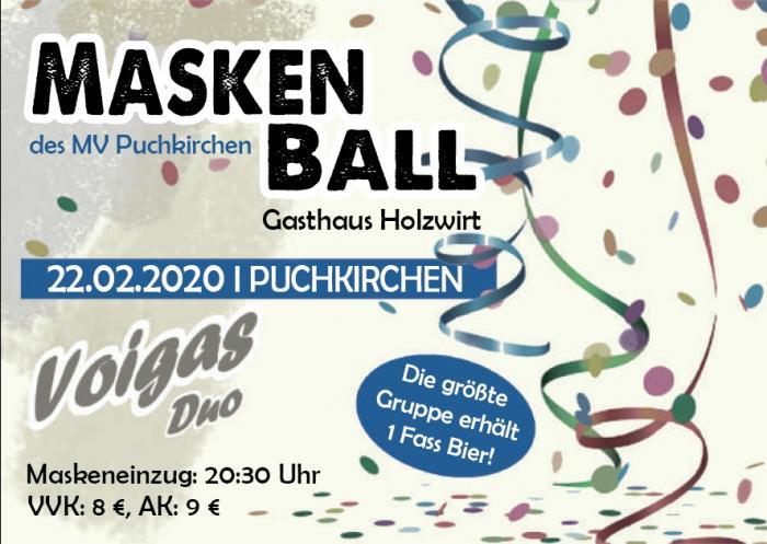 Maskenball, MV-Puchkirchen